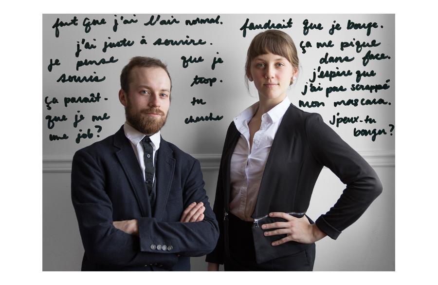 Antoine Turmine, Gabrielle Bertrand-Lehouillier © Émilie Langlais