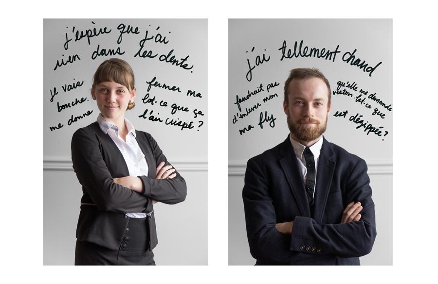 Gabrielle Bertrand-Lehouillier, Antoine Turmine © Émilie Langlais