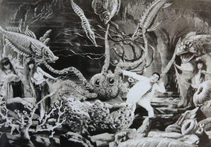 Extrait de 20 000 lieues sous les mers © 1907