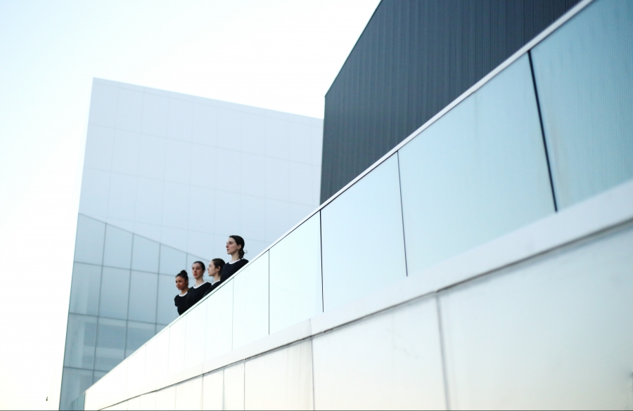 Ariane Dubé-Lavigne, Laurence Dufour, Kim L. Rouchdy, Jeimy Oviedo © Marie-Ève Dion
