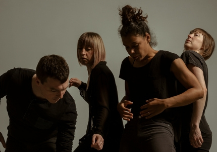 David Campbell, Catherine Lafleur, Geneviève Lauzon, Liane Thériault © Justine Latour