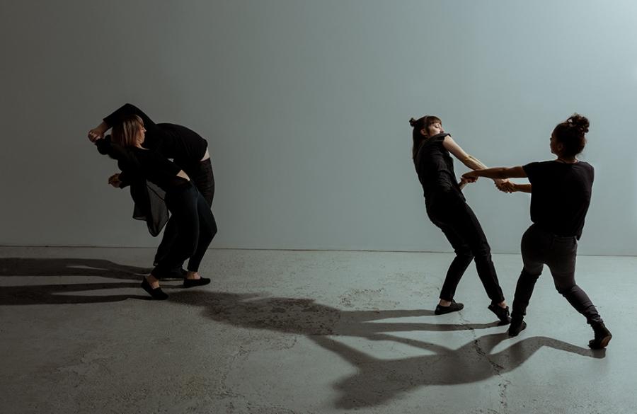 David Campbell, Catherine Lafleur, Geneviève Lauzon © Justine Latour